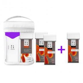 ELLA rinkinys cukraus depiliacijai (pasta + šildytuvas)