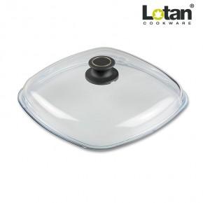 Lotan LOT-E26 stiklinis keturkampis dangtis 26 x 26 cm
