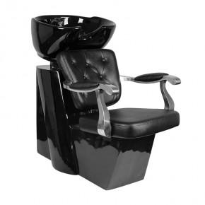Kirpyklinė plautuvė Gabbiano Molise, juoda