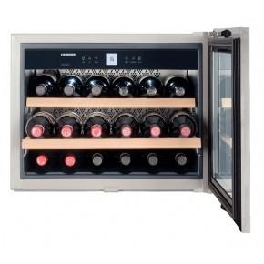 LIEBHERR WKEes 553 įmontuojamas šaldytuvas vynui