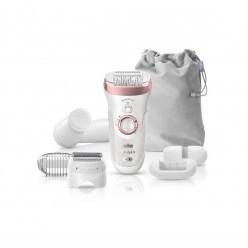 Braun SES9880 epiliatorius (Wet and Dry Silk-Epil 9 SensoSmart SES 9880) - Naujas modelis, 7 priedai !