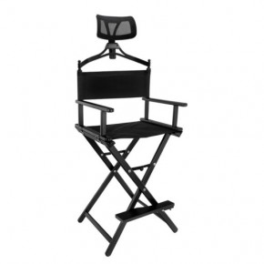 Kėdė makiažui su atrama galvai