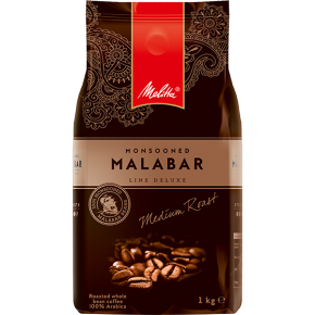Melitta Mansooned Malabar kavos pupelės, 1 kg