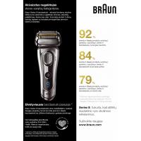 Braun 9293s barzdaskutė (Wet and Dry Series 9) + kelioninis dėklas ir stovelis - Naujas modelis !