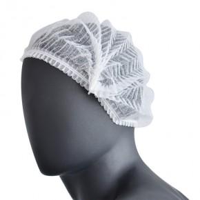 Neaustinės medžiagos kepuraitės, 100 vnt