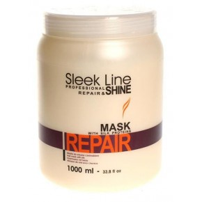 Kaukė plaukams Sleek Line Repair, 1000 ml