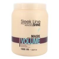 Kaukė plaukams Sleek Line Volume, 1000 ml