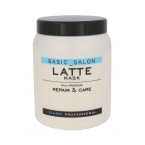 Kaukė plaukams Stapiz Basic Salon Latte, 1000 ml