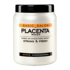 Kaukė plaukams Stapiz Basic Salon Placenta, 1000 ml