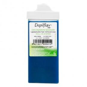 Vaškas kasetėje Depilflax su azulenu (siaura galvute), 110 ml