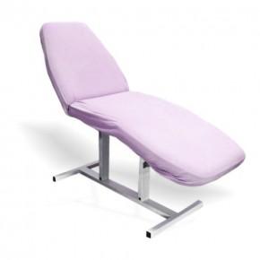 Kilpinė paklodė su guma, violetinė, 60 cm x 190 cm