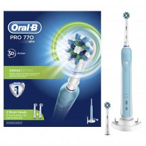 Braun Oral-B PRO770 Cross Action dantų šepetėlis (PRO 770 D16.524) + 1 papildoma galvutė !