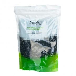 Kietasis vaškas granulėmis Depilflax Juodas, 1 kg