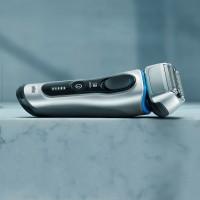 Braun 8350s barzdaskutė (Wet and Dry Series 8) su įkrovimo stoveliu + kelioninis dėklas - Naujas modelis !