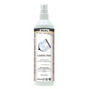 MOSER - WAHL CLEANING SPRAY Purškiamas valymo skystis kirpimo mašinėlių galvutėms (galvutės valymo priemonė 4005-7052)