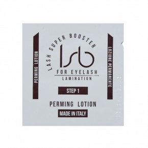 Lash Super Booster perming lotion, Step 1 (10vnt.10ml)