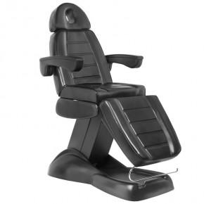 Kosmetologinis elektrinis krėslas LUX BLACK