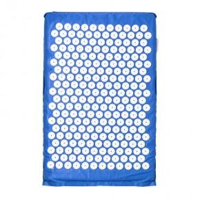 Akupresūrinis taškinis masažo kilimėlis 61x40cm, mėlynas